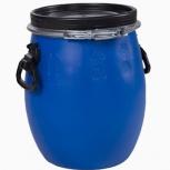 Бочка тара пластиковая с крышкой на обруч 20 литров, Магнитогорск