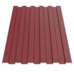 Профнастил МП-20 RAL 3011 красно-коричневый 1100х0, Магнитогорск