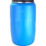 Бочка тара пластиковая с крышкой на обруч 227 литров, Магнитогорск