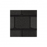 Гибкая черепица CertainTeed Highland Slate black g, Магнитогорск