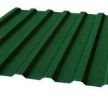 Профнастил МП-20 RAL 6005 зеленый мох 1100х0.35, Магнитогорск