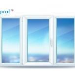 Окно ПВХ S358 Practica 2100х1400 (3С/3К) Откидное, Магнитогорск