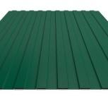 Профнастил С-8 RAL 6005 зеленый мох 1150х0.35, Магнитогорск