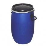 Бочка тара пластиковая с крышкой на обруч 65 литров, Магнитогорск