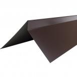 Планка торцевая полиэстер Технониколь RAL 8017 кор, Магнитогорск