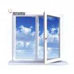 Окно ПВХ Rehau Blitz 1000х1000 (2С/3К) Поворотное, Магнитогорск