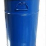 Бочка тара стальная с крышкой на обруч 50 литров, Магнитогорск