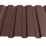 Профнастил МП-20 RAL 8017 шоколад 1100х0.35, Магнитогорск