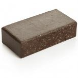 Брусчатка клинкерная «Шоколад» «Брауни» 100х200х45, Магнитогорск
