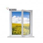 Окно ПВХ Rehau Blitz 600х600 (1С/3К) Поворотно-Отк, Магнитогорск