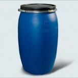 Бочка Тара пластиковая с крышкой на обруч 127 литров, Магнитогорск